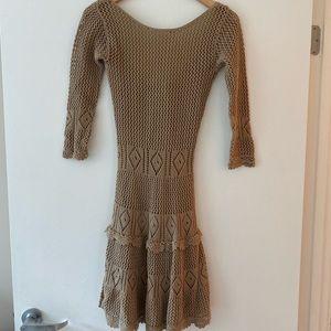 Knitted dress from VS moda international